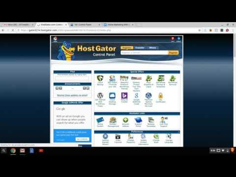 Online Marketing pt 1 Blogging Training