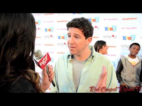 Jason Harris at the Lollipop Theater NightUnderTheStars RIO2 at @NickelodeonTV @JasonHarris