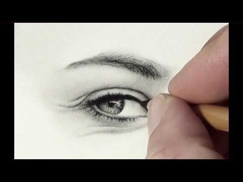 Let's draw Aline – 003 wie zeichne ich ein Auge / how to draw an eye (german narrated)