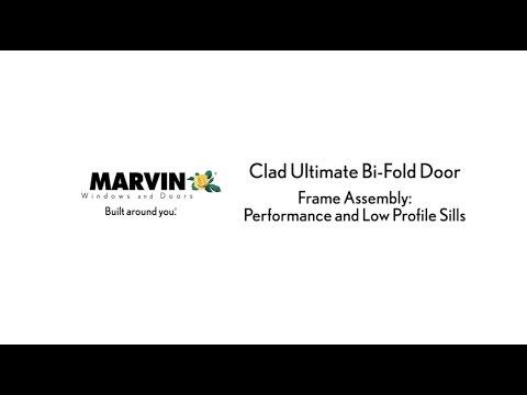 Marvin Clad Ultimate Bi-Fold Door - Frame Assembly - YouTube