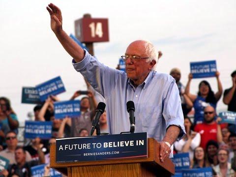 Full Speech Bernie Sanders Fresno California Rally (5-29-16)