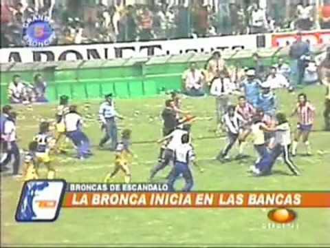 Bronca America vs chivas 1983