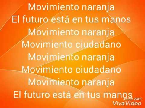 Movimiento naranja-Letra