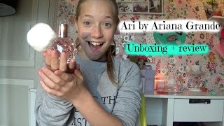 ARI by Ariana Grande unboxing + review