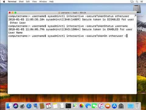 Secure Token and FileVault on Apple File System | Der Flounder