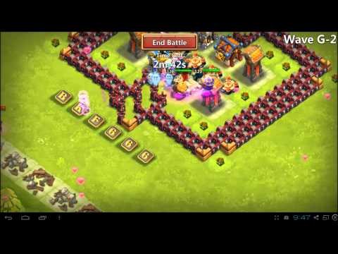 Castle Clash - How To Guide - Town Hall 16