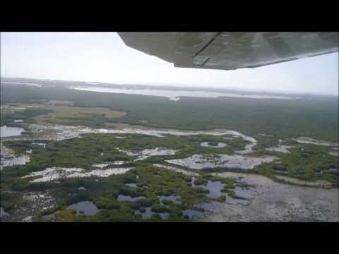 Flug über die Everglades (Florida/USA)