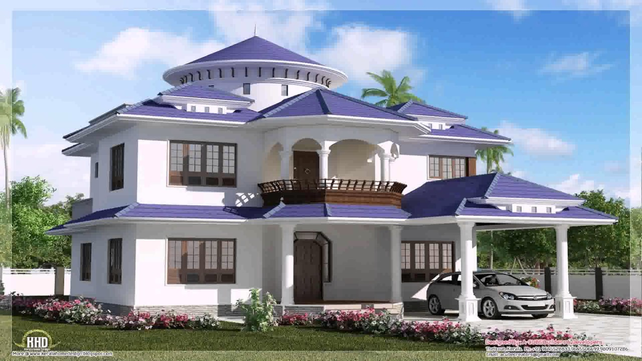 Sample House Design In India Youtube