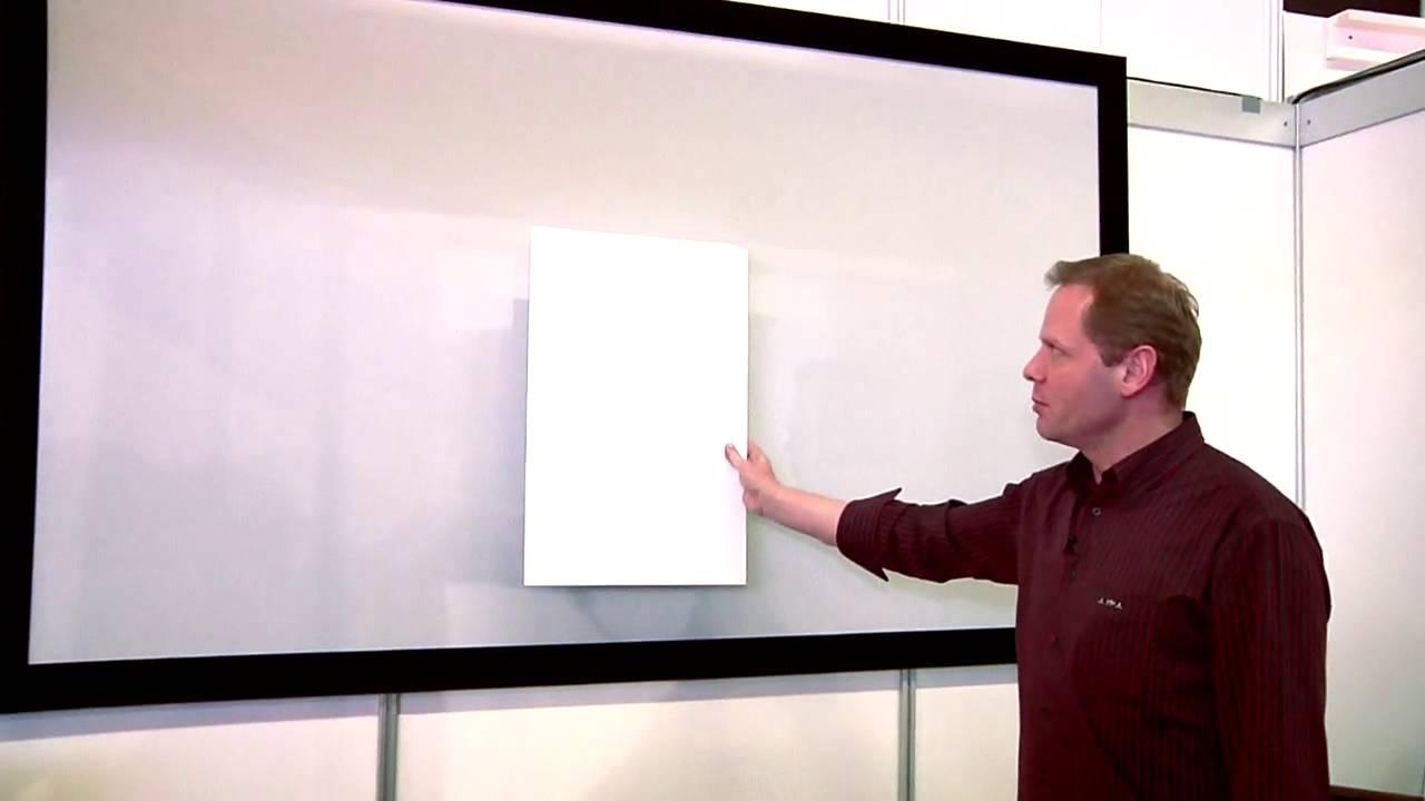 Peinture Pour Ecran Retroprojecteur goo systems screen goo (ise 2012)