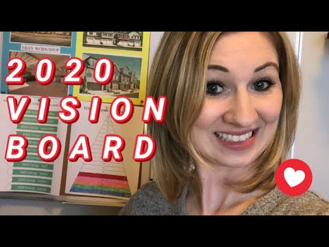 2020 Goals And Vision Board |Buying A 4plex | Saving Money | Mel Robbins|