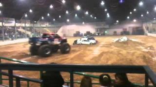 BigFoot Monster Truck at Hardy Murphy in Ardmore,Oklahoma