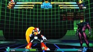 MARVEL VS. CAPCOM 3 Fate of Two Worlds ゼロコンボ動画