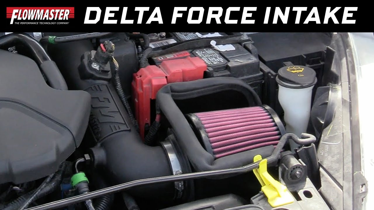 Flowmaster 615173 Delta Force Performance Air Intake for Ford Fiesta ST 1.6L