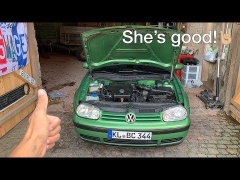 The Golf is fixed! ( Mk3 variant or Mk1 Jetta? )