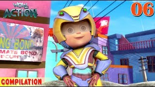 Vir : The Robot Boy | Vir Action Collection - 6 | Action series | WowKidz Action