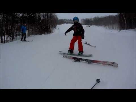 Skiing - Firefly 7S Action Camera Test