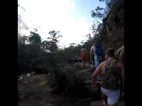Go Pro adventures - Mermaid pools tahmoor NSW Australia cliff jumping take 2