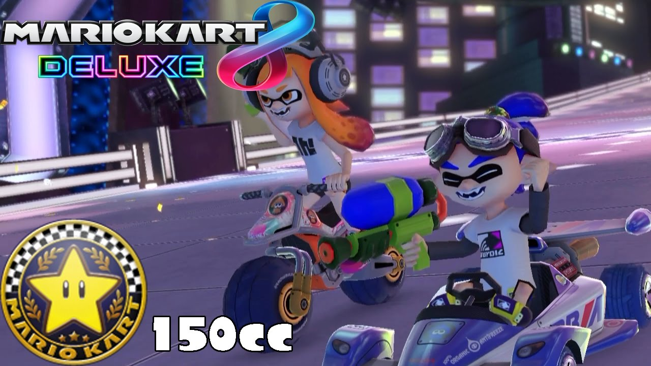 Mario Kart 8 Deluxe 150cc Star Cup W Inkling Boy 1080 Hd Youtube