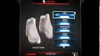 AJ OVO 12 oluşturma 2K17 NBA PC/PS3: