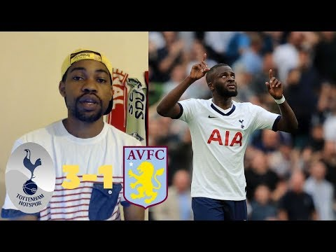 tottenham-vs-aston-villa-3-1-|-tanguy-ndombele-scores-goal-on-his-debut