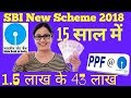 SBI PPF Account 2018 Hindi (Public Provident Fund PPF In SBI) || PPF Account Benefits Hindi