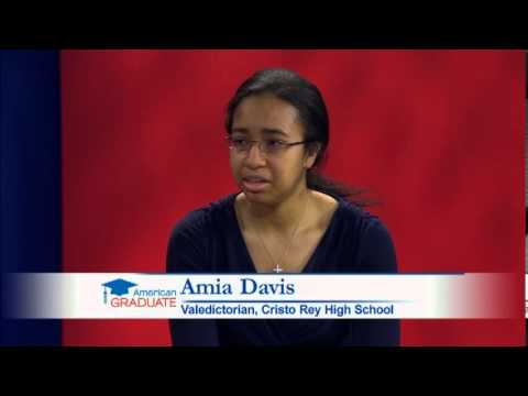 Amia Davis Interview from the Graduation Celebration 2013