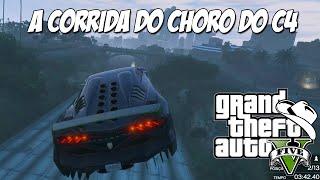 GTA 5 Online (PC) - Corrida GTA frenética e o choro do C4