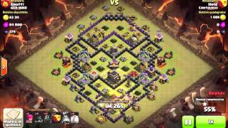 Clash of Clans - Grotti vs Held