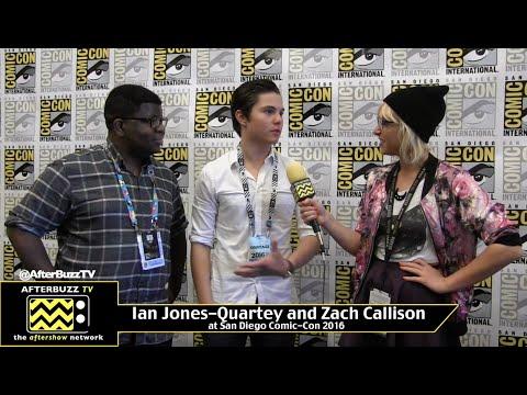 Ian Jones-Quartey and Zach Callison (Steven Universe) at San Diego Comic-Con 2016