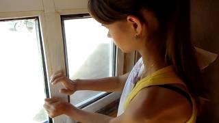 Видео инструкция по утеплению окон прозрачной пленкой.(Краткая видео инструкция по утеплению окон прозрачной пленкой. Эффект