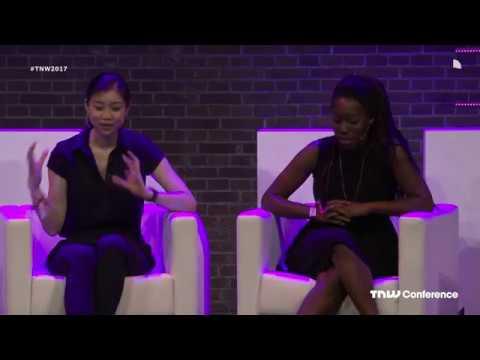 Tracy Chou & Y-Vonne Hutchinson in conversation with Janneke Niessen | TNW Conference 2017