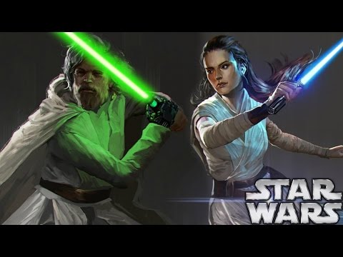 Star Wars Episode 8 The Last Jedi Footage Shown - Luke Skywalker's First Words