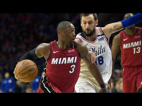 Wade Turns Back The Clock! Clutch Steal, Dagger 28 Pts Game 2! 2018 NBA Playoffs