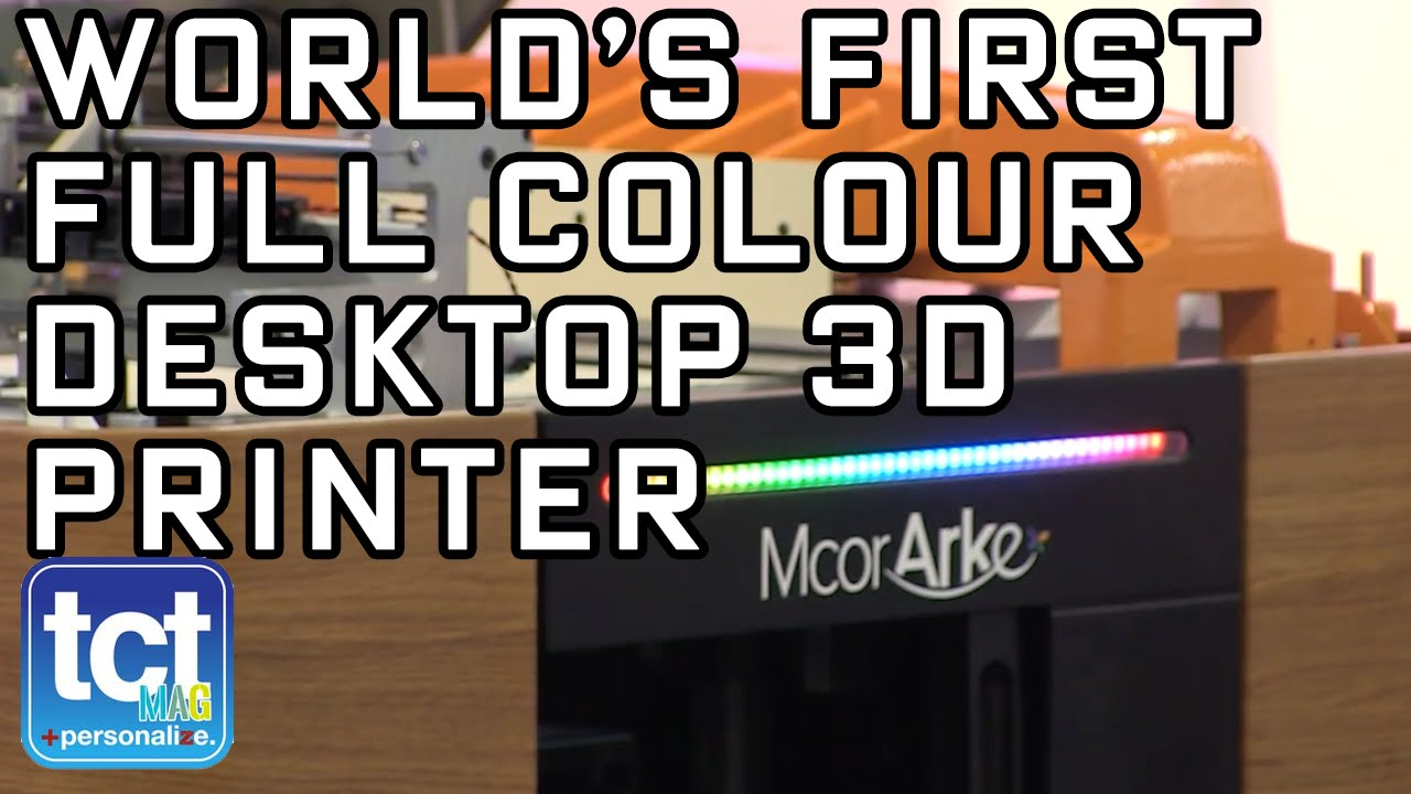 9fb72288352 Full colour 3D printing for the desktop with Mcor at CES 2016 - YouTube