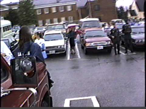 1990 La Plata High School Homecoming parade