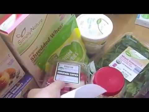 Organic/Whole food haul August 2016
