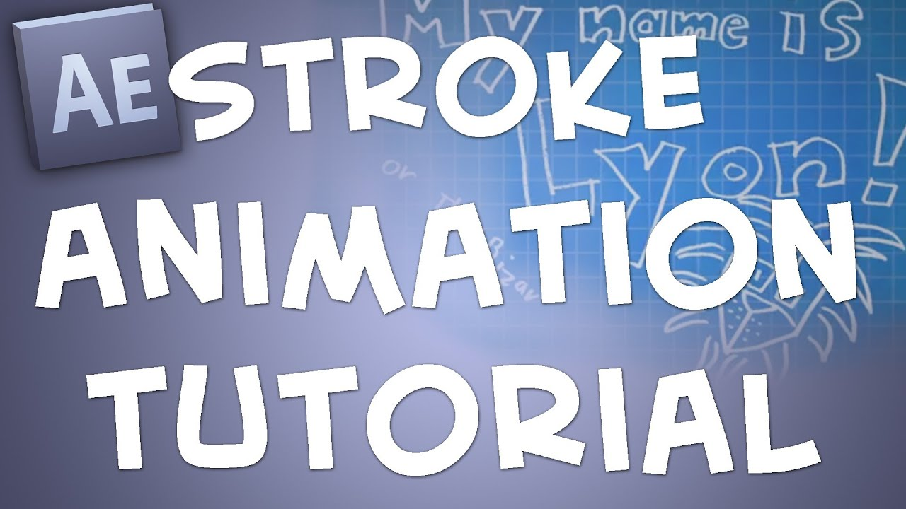 After effects animated stroke effect tutorial blueprint background after effects animated stroke effect tutorial blueprint background youtube malvernweather Gallery