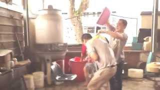 07 Factory Thailand New Year Celebrate Batu Pahat Johor Malaysia Songkran Festival Water Splashing