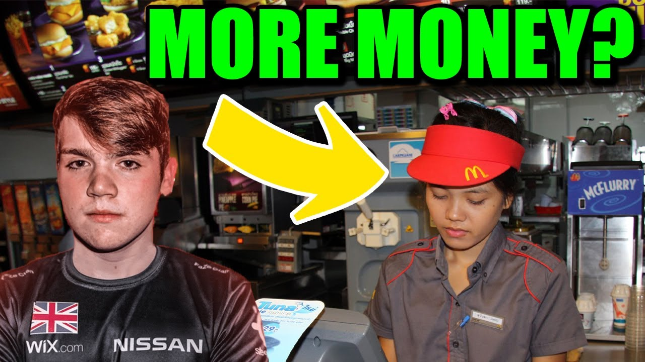 McDonald's Workers now Make MORE MONEY Than Fortnite Pros?