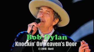 Bob Dylan - Knockin' On Heaven's Door (Karaoke)