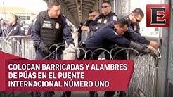 Cierran puente fronterizo en Nuevo Laredo por intento de cruce de migrantes