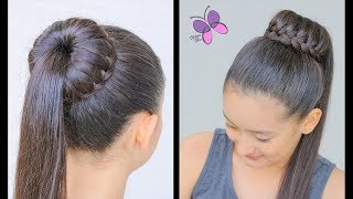 Waterfall Bun | Braided Hairstyles | Hairstyles for School | ChikasChicEng