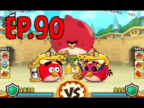 Angry Birds Fight! - ARENA RED MASTER CUP - GOLDEN SHINY CROWN (SS) - EP90