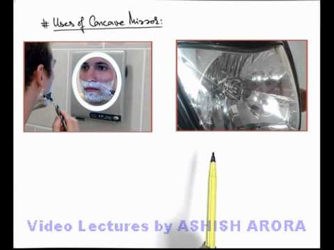 Uses Of Concave Mirrors Jbm12a Youtube