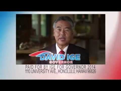 David Ige for Governor 2nd Commercial: TRUST