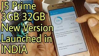 Galaxy J5 Prime 3GB 32GB Unboxing In Hindi