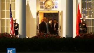president xi jinping arrives in washington