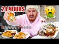 I Only Ate At The Worst Reviewed Restaurants In My City For 24 Hours!! (1 STAR)