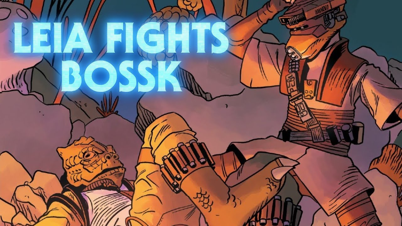 Leia Fights Bossk Age Of Rebellion Princess Leia Review And Analysis