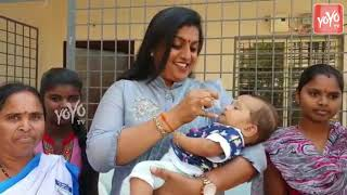 YCP MLA Roja LOVE Towards Children | Nagari | AP News